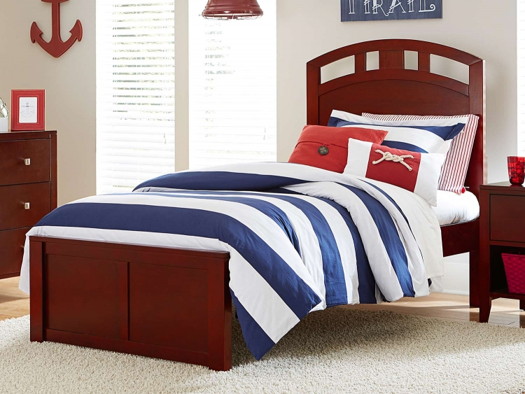Pulse Arch Bed - Cherry