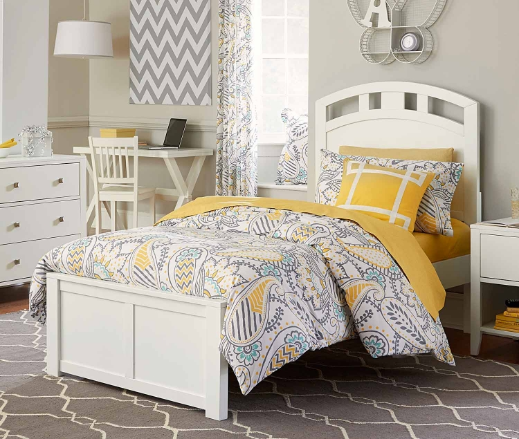 Pulse Arch Bed - White