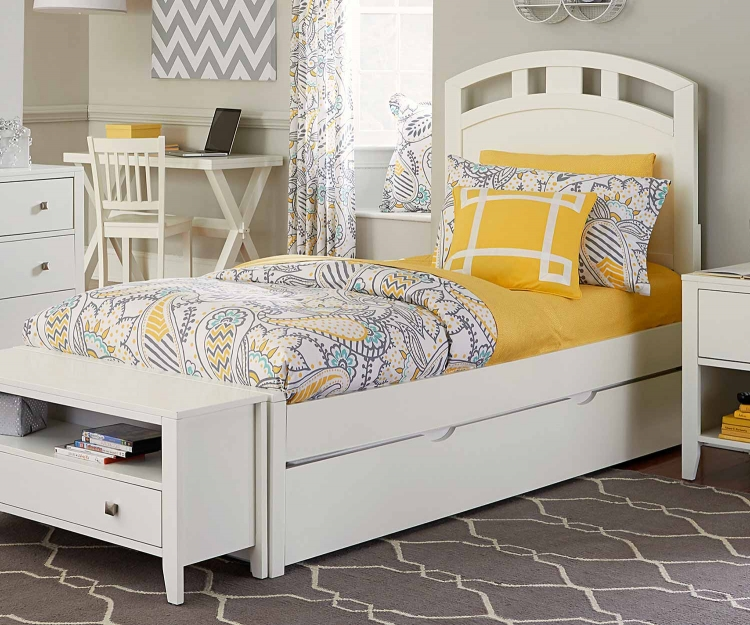 Pulse Arch Bed Trundle - White
