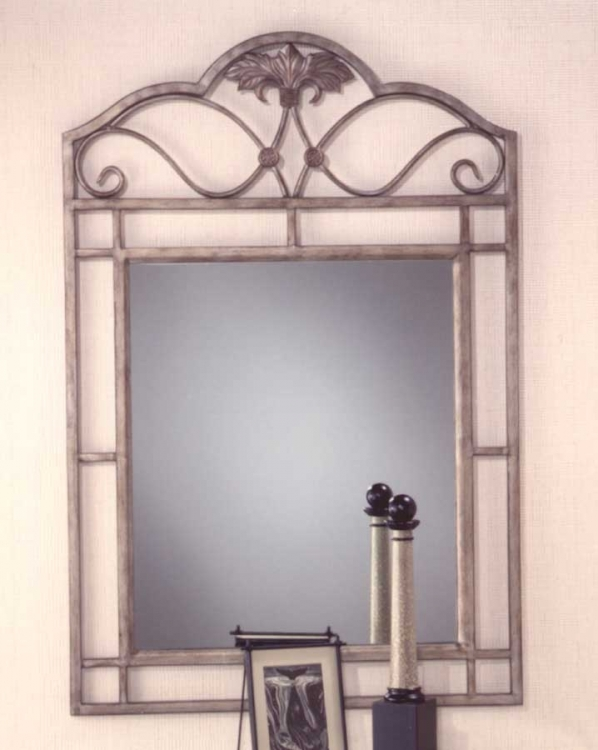 Bordeaux Console Mirror - Bronze Pewter