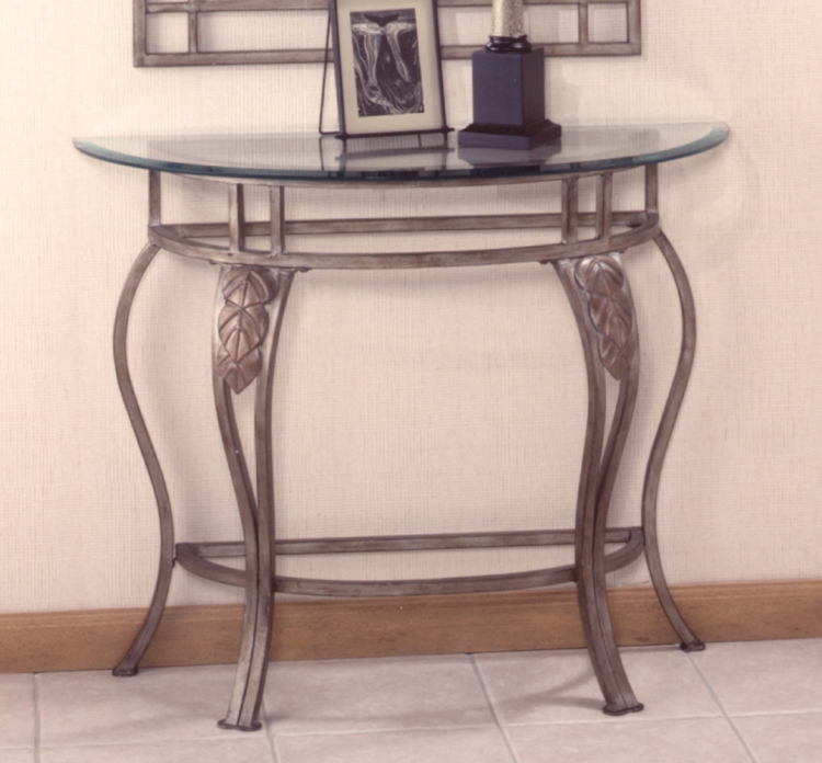 Bordeaux Console Table - Bronze Pewter