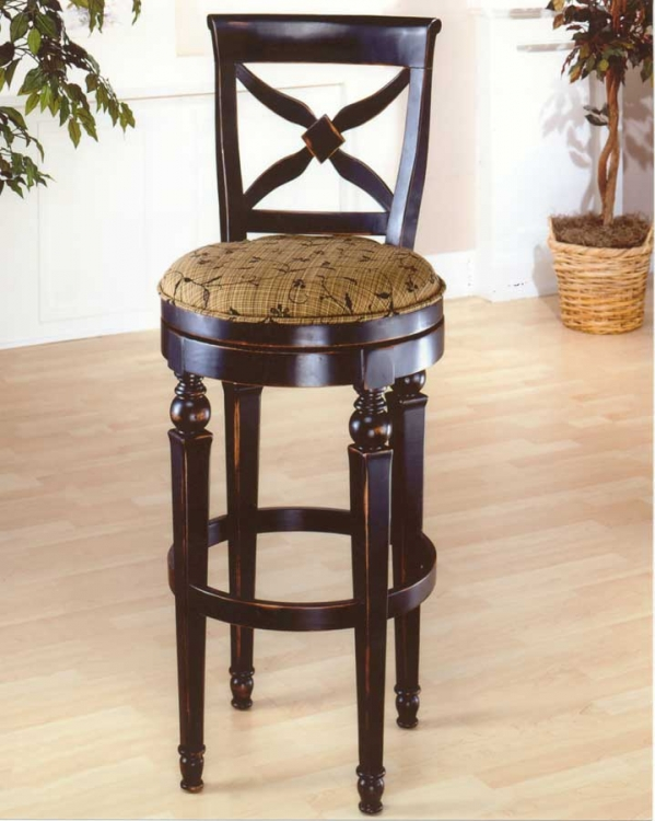 Normandy Swivel Wood Bar Stool - Hillsdale