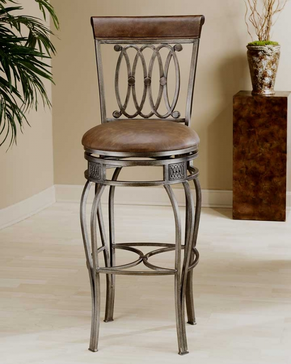 Montello Swivel Bar Stool - Hillsdale