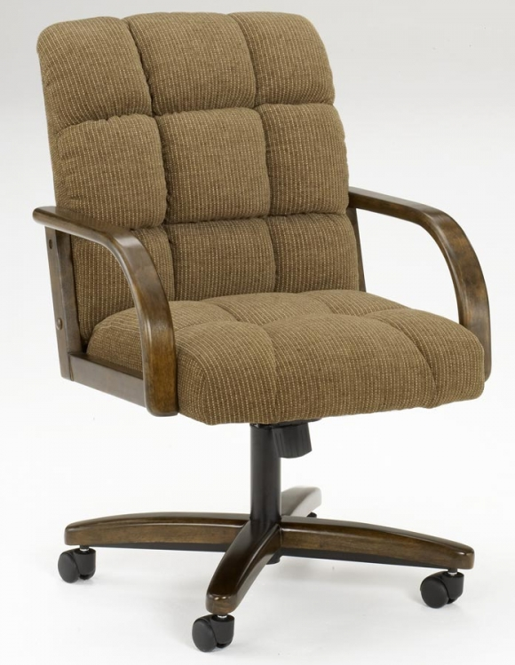 Frankfort Fabric Caster Chair