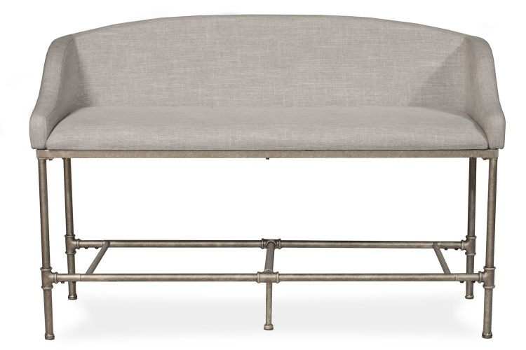 Dillon Counter Height Bench - Pewter