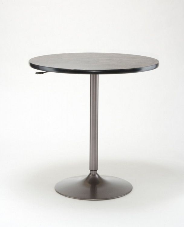 Aspen Adjustable Table - Oyster Grey - Hillsdale