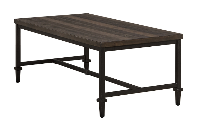 Trevino Coffee Table - Walnut/Brown