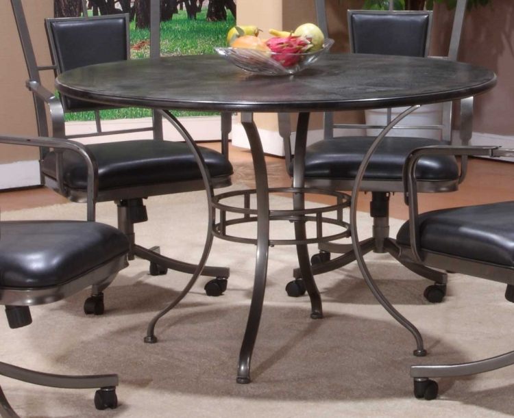 Auckland Round Wood Dining Table
