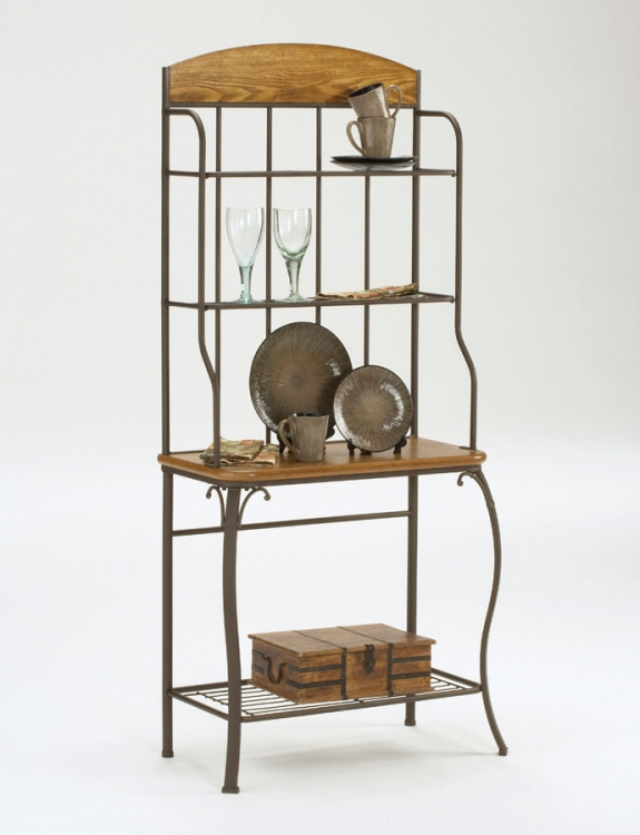 Lakeview Bakers Wood Rack - Hillsdale