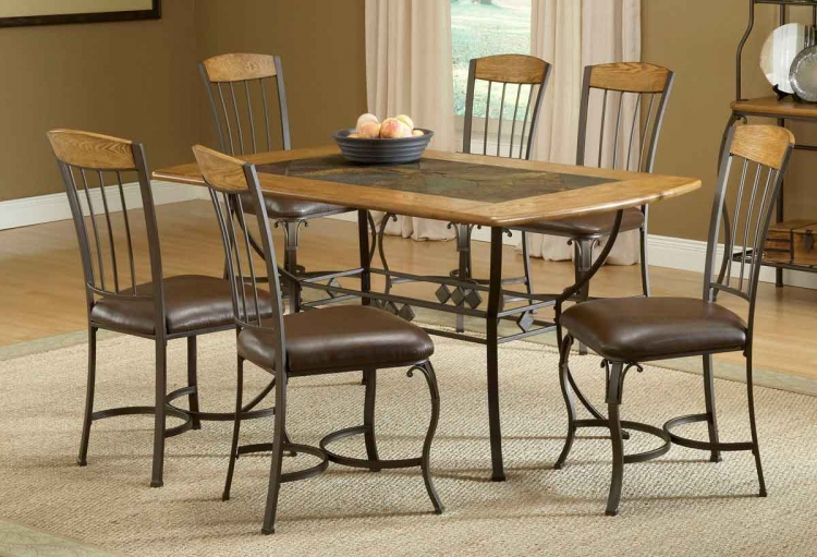 Lakeview Rectangle Dining Set with Wood Chair - Hillsdale