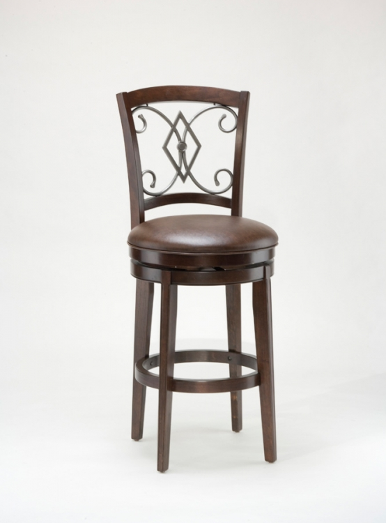 Pamplona Swivel Counter Stool - Hillsdale