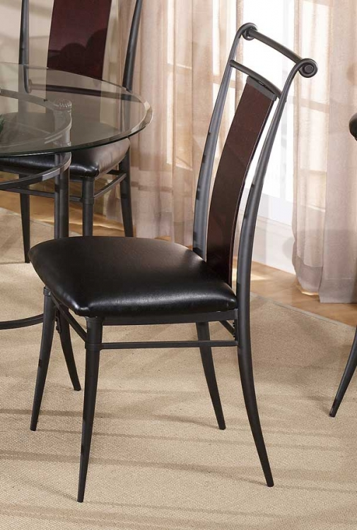 Midtown Wood Back Chair