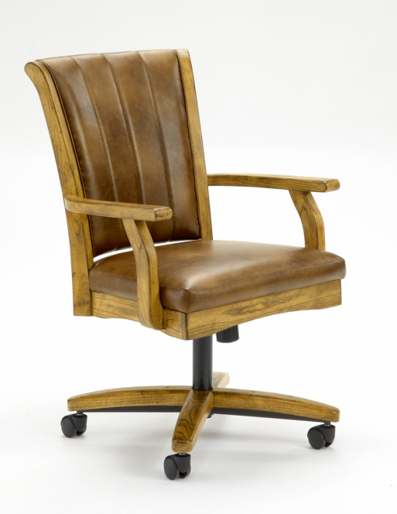 Grand Bay Caster Chair - Oak