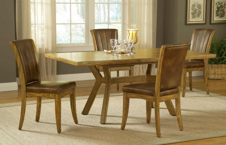 Grand Bay Rectangle Dining Table - Oak
