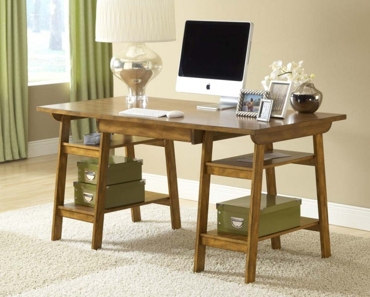 Park Glen Desk - Oak - Hillsdale