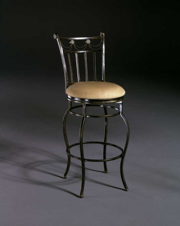 Camelot II Metal Swivel Counter Stool