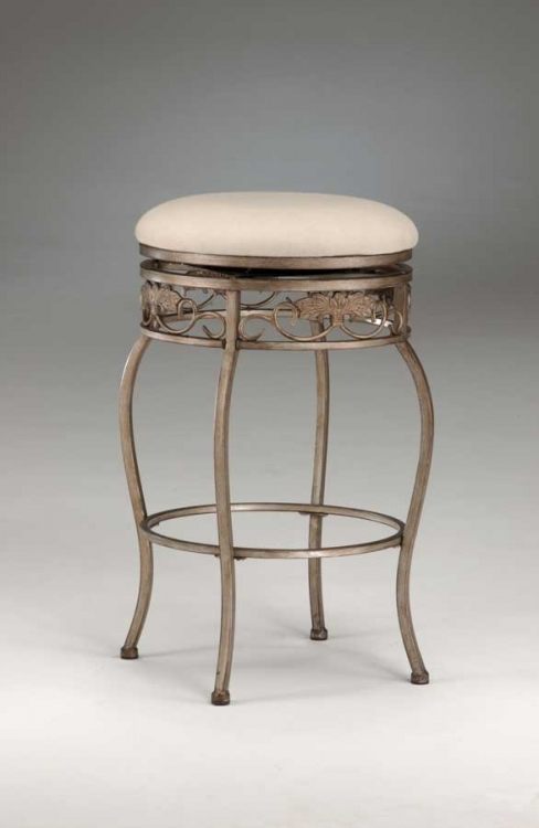 Bordeaux Swivel Bar Stool - Backless