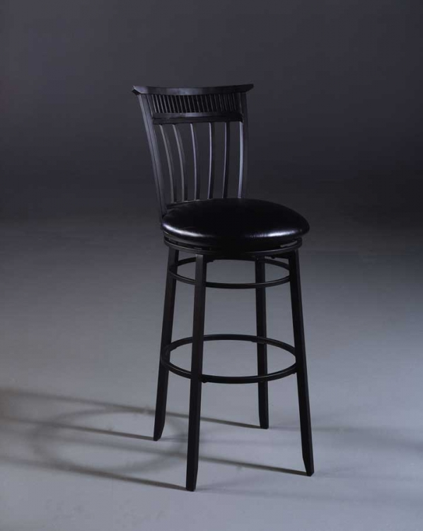 Cottage Metal Swivel Counter Stool - Hillsdale