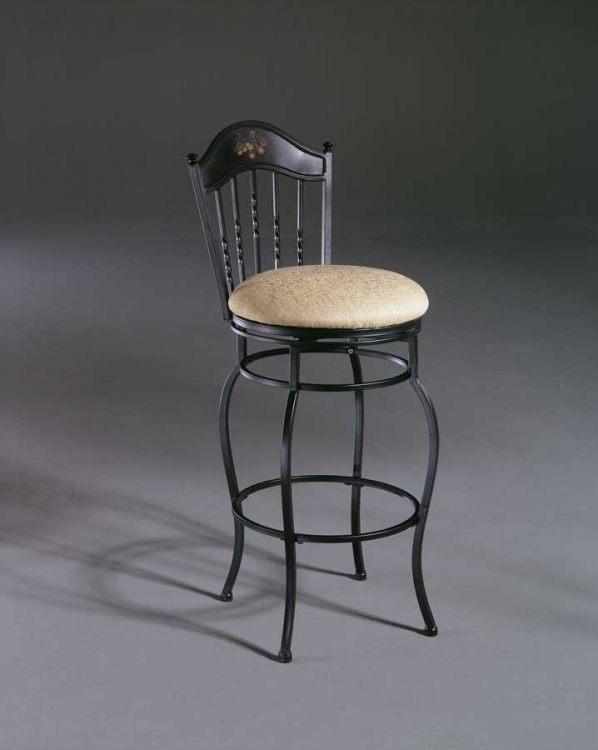 Macinac Metal Swivel Counter Stool