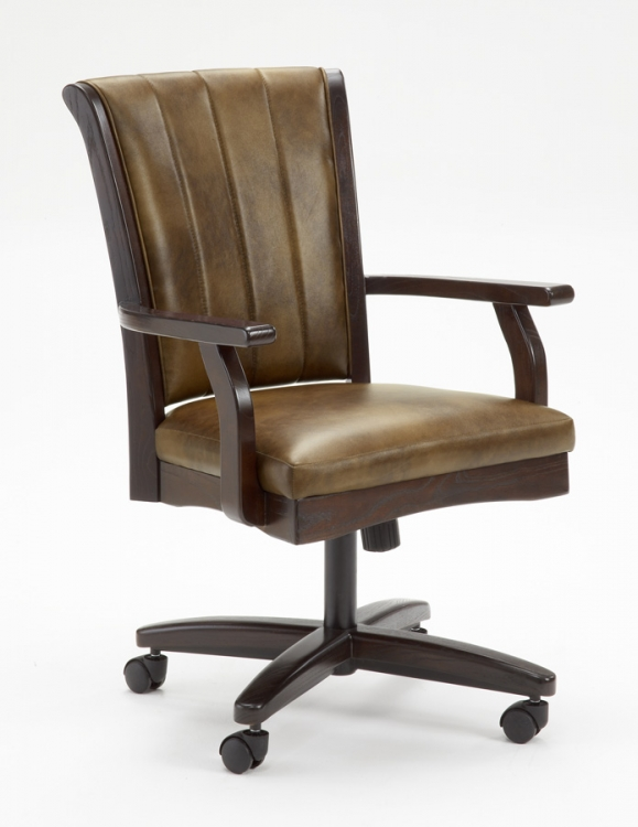 Grand Bay Caster Chair - Cherry
