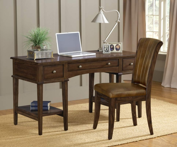 Gresham Desk Set - Cherry - Hillsdale