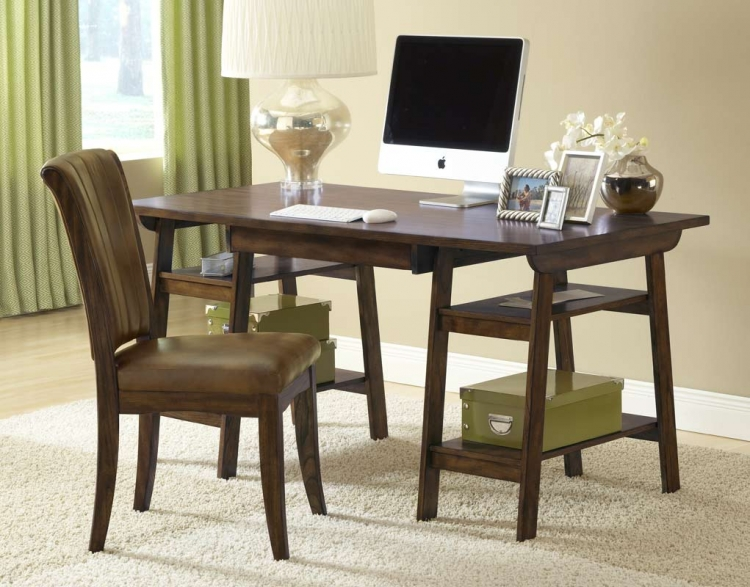 Park Glen Desk Set - Cherry - Hillsdale