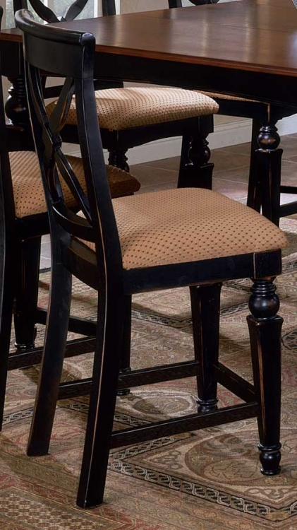 Northern Heights Non-swivel Wood Counter Stools - Hillsdale
