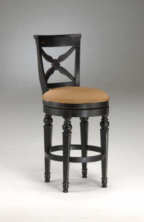 Northern Heights Swivel Wood Bar Stool - Hillsdale