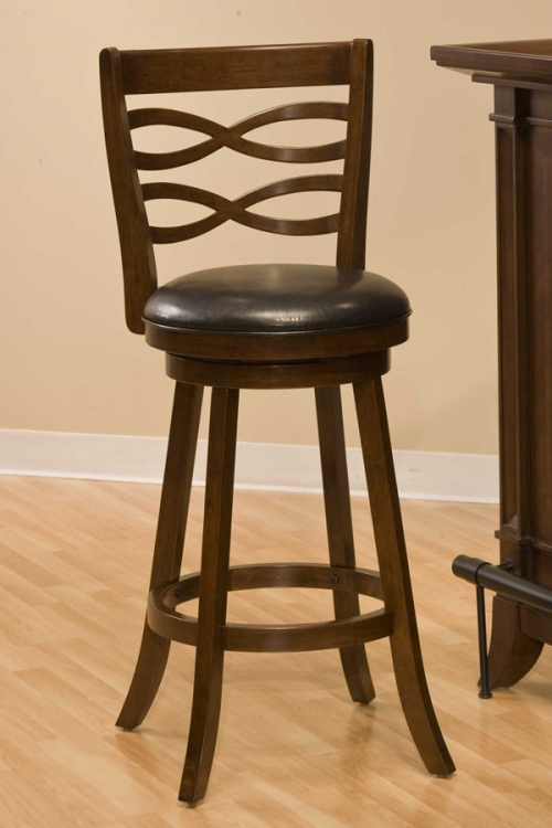 Elkhorn Swivel Counter Stool