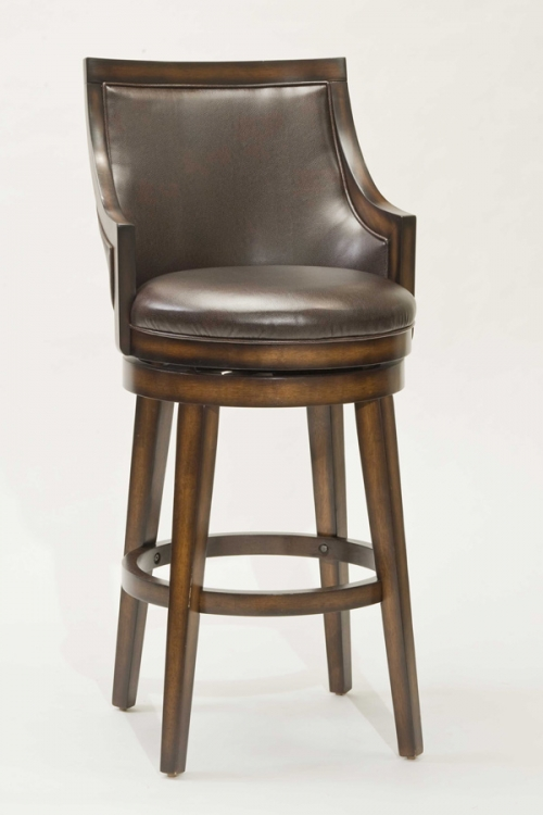 Lyman Swivel Bar Stool - Hillsdale