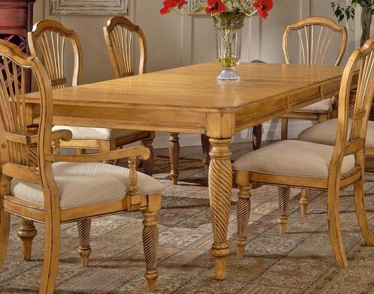 Wilshire Rectangular Dining Table - Antique Pine