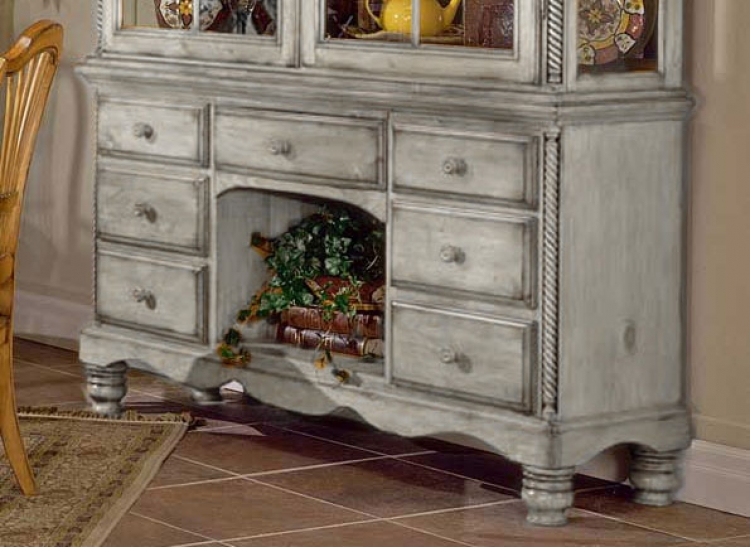 Wilshire Buffet - Antique White
