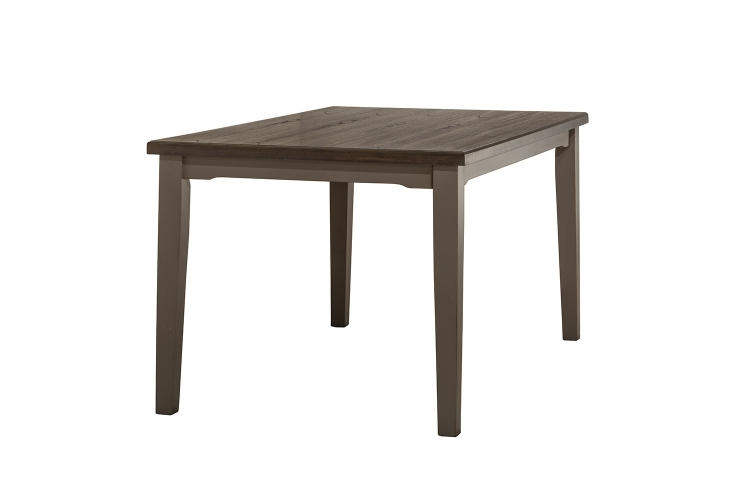 Clarion Rectangle Dining Table - Gray