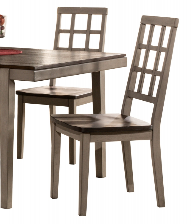 Garden Park Dining Chair - Gray/Espresso