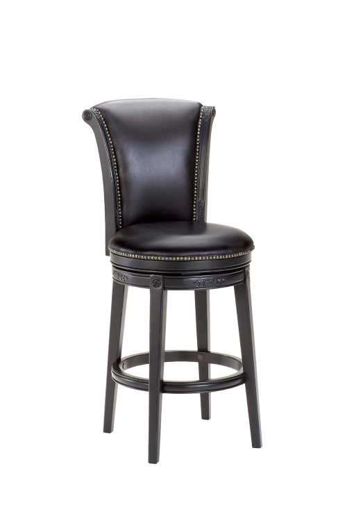 Russell Swivel Counter Stool - Black