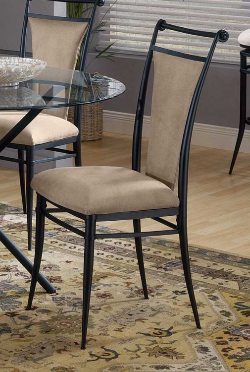Cierra Dining Chairs - Fawn Fabric