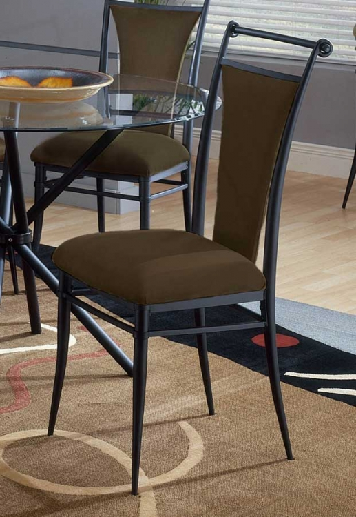 Cierra Dining Chairs - Bear Fabric