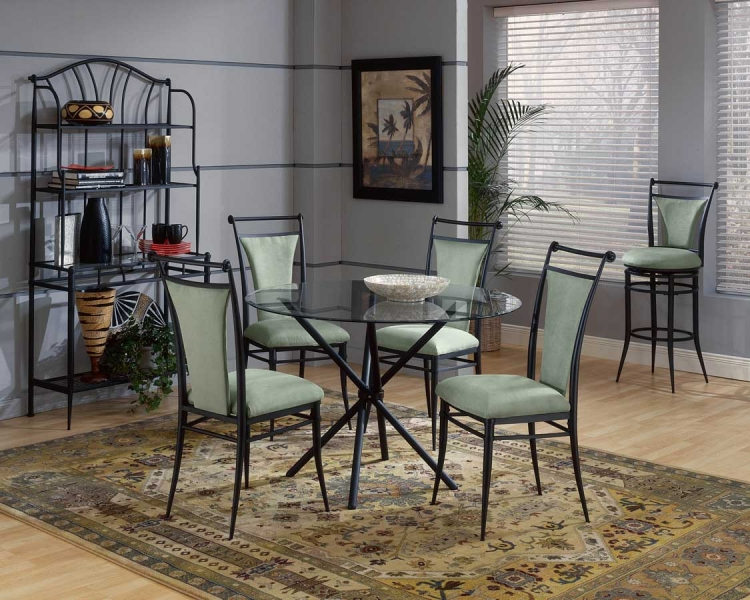 Cierra Round Dining Collection - Atmosphere - Hillsdale