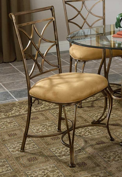 Glendale All Metal Dining Chair