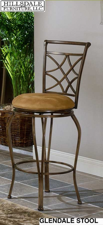 Glendale Metal Bar Stool - Hillsdale