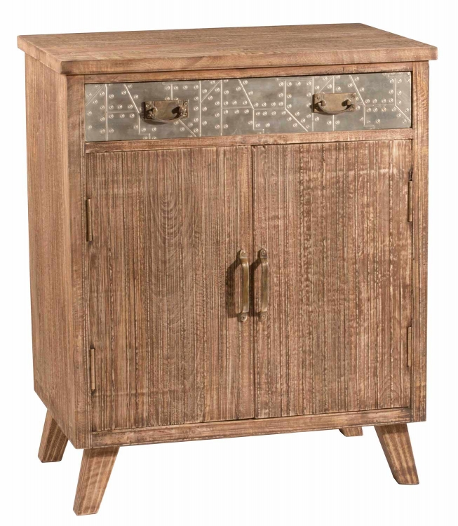 Lavelle 2-Door Cabinet - Oak