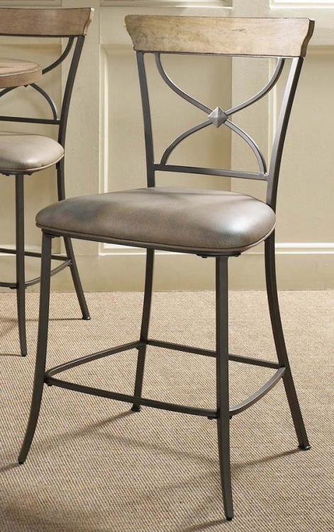 Charleston X-Back Stool - Hillsdale