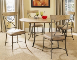 Charleston Round Dining Set With X-Back Dining Chair - Hillsdale
