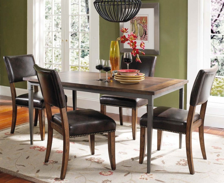 Cameron Rectangular Dining Set With Parson Dining Chair