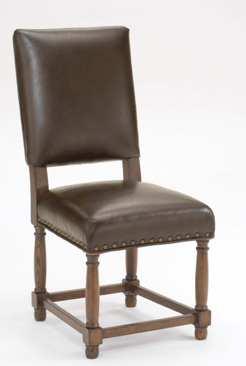 Hartland Dining Side Chair - Dark Oak
