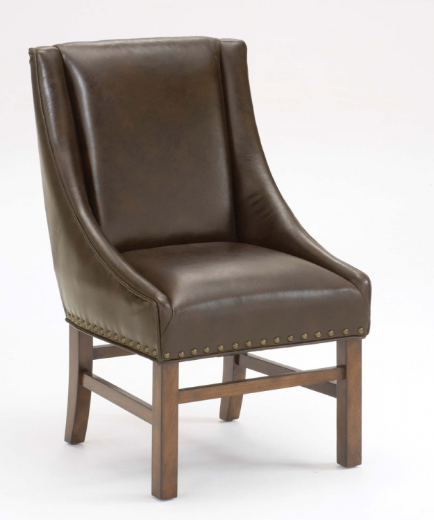 Hartland Dining Arm Chair - Dark Oak - Hillsdale