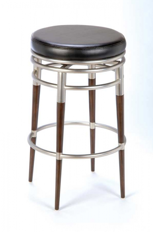 Salem Backless Swivel Counter Stool