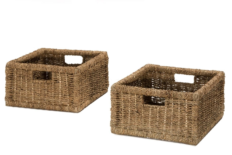 Seneca Basket - Set of 2 - Natural Seagrass