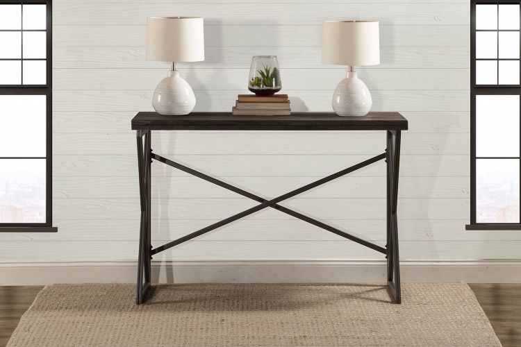East Glenn Flip Top Counter Height Table - Charcoal