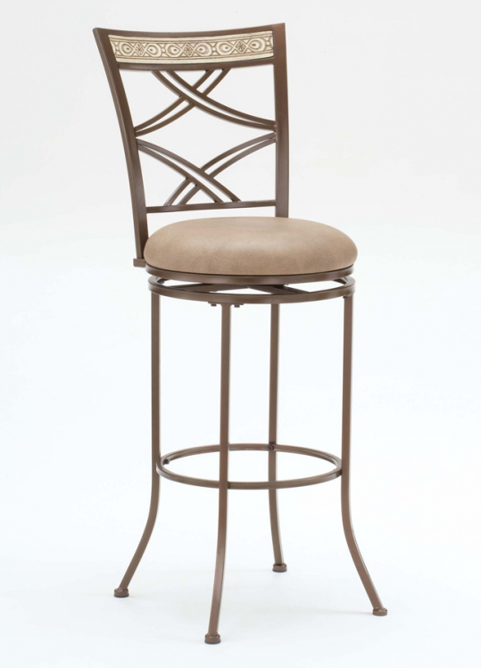 Alcoma Swivel Bar Stool - Hillsdale